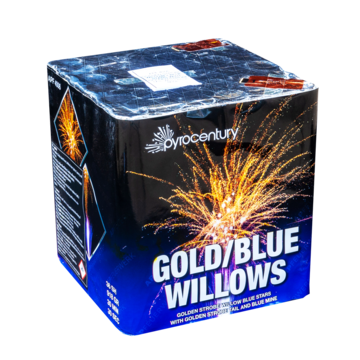GOLD/BLUE WILLOWS