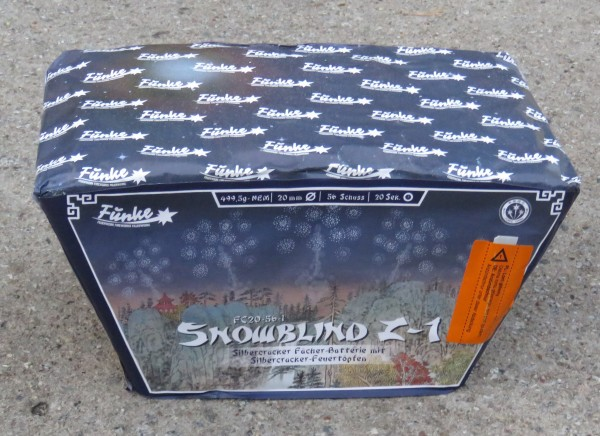 SNOWBLIND Z -1 Version 2018