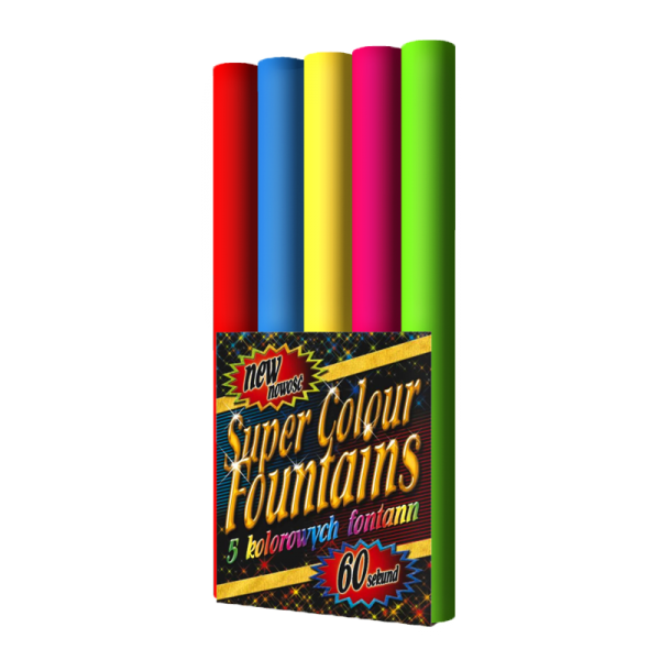 SUPER COLOR FONTAINS JF33