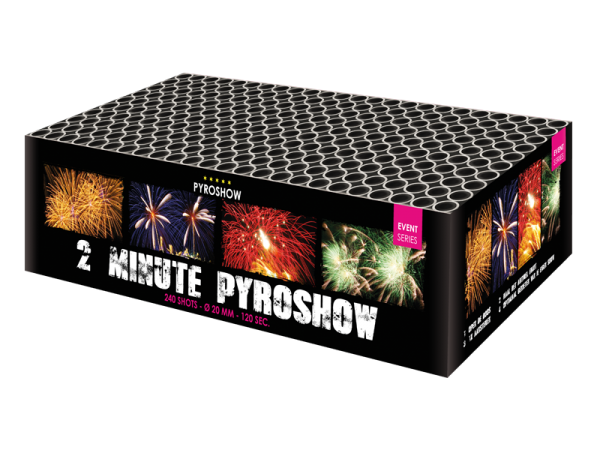 2 MINUTE PYROSHOW